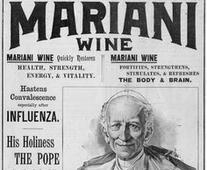 The Pope drinking Mariani Wine